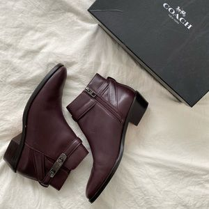 Coach Ankle Boots with Heel